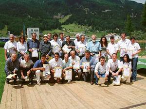 Skiclub Haid Mitglieder und ehemalige Mitglieder des Ausschusses